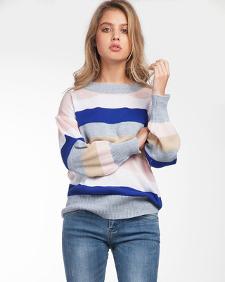 Eye Candy Striped Sweater