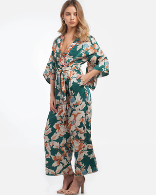 Take Me To Paradise Floral Jumpsuit