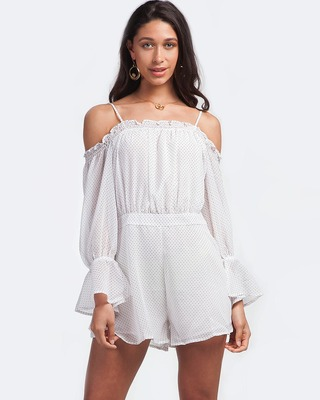 Show You How Playsuit White
