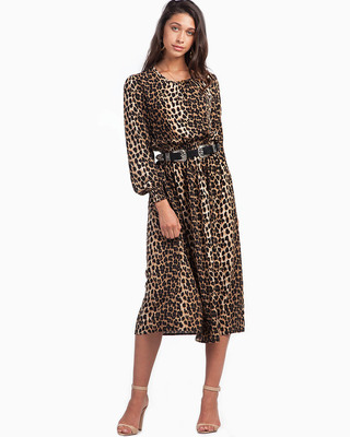 Keep It Wild Premium Leopard Dress