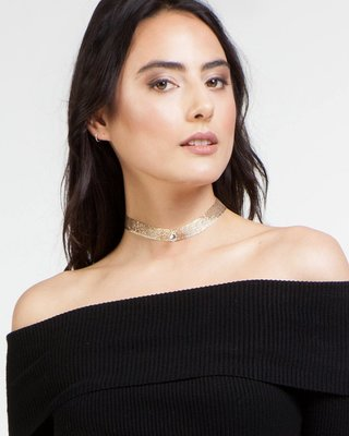 Everything Gold Choker
