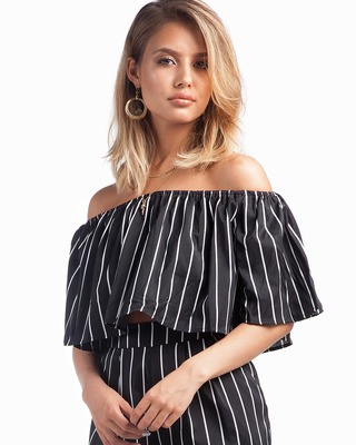 All About You Striped Top