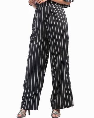 All About You Striped Trousers