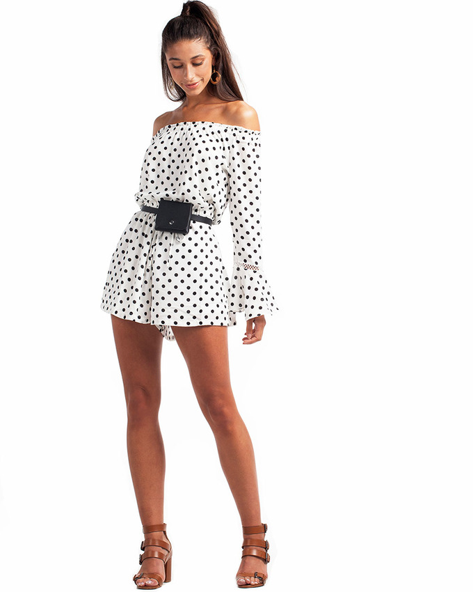 9ae97f0317 Already Taken Playsuit White - Not Your Baby