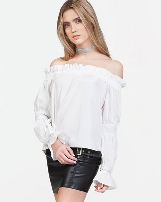 Hello Hottie Off Shoulder Top