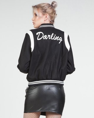 Pretty Darling Bomber Jacket