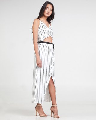 Jetsetter On The Go Maxi Split Dress